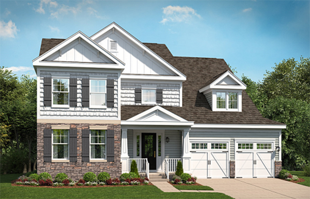 room house plans with staircase on stanley martin homes floor plans
